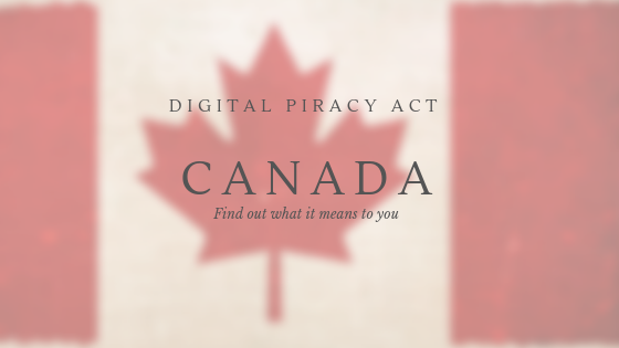 Digital Piracy act Canada